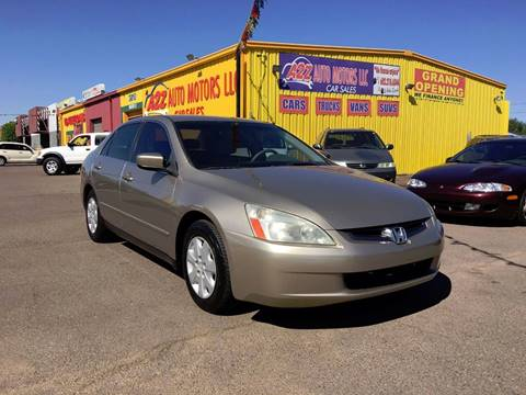 2003 Honda Accord for sale in Phoenix, AZ