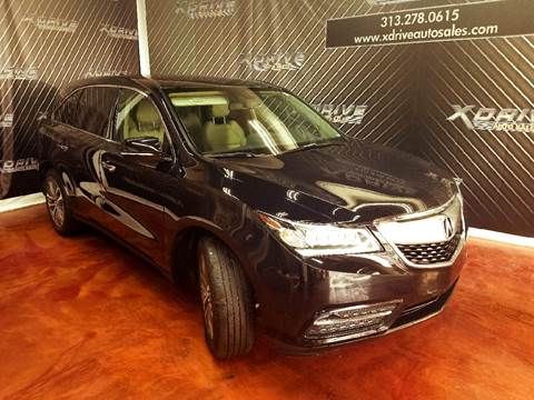 mdx with for photos carfax technology acura sale used