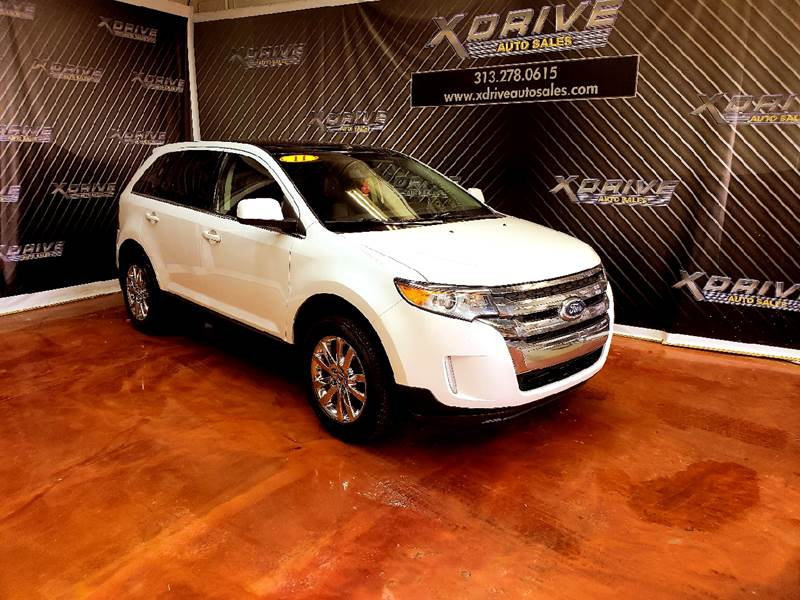 Ford Edge Awd Limited Dr Crossover Dearborn Heights Mi