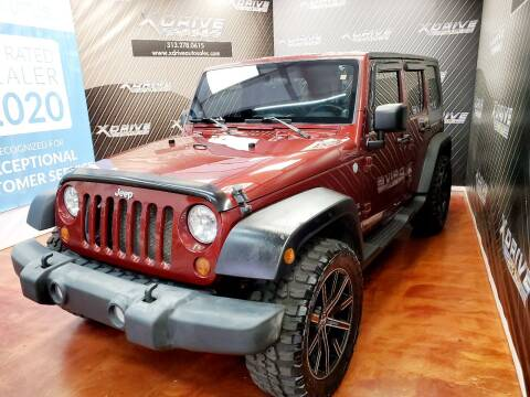 2010 Jeep Wrangler Unlimited for sale at X Drive Auto Sales Inc. in Dearborn Heights MI