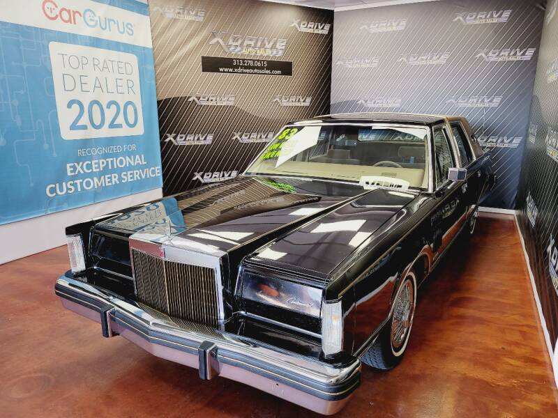 1983 Lincoln Mark VI for sale at X Drive Auto Sales Inc. in Dearborn Heights MI