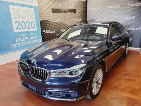 2016 BMW 7 Series for sale at X Drive Auto Sales Inc. in Dearborn Heights MI