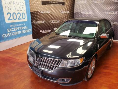 2010 Lincoln MKZ for sale at X Drive Auto Sales Inc. in Dearborn Heights MI