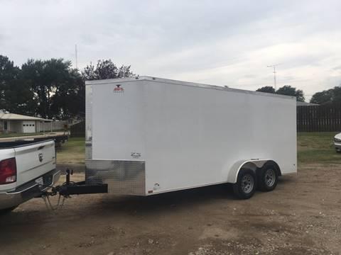 2017 Anvil 17 ft vnose enclosed for sale in Oakley, KS