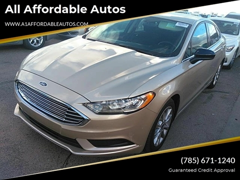 b34a6cf2d310f 2017 Ford Fusion Hybrid for sale at All Affordable Autos in Oakley KS