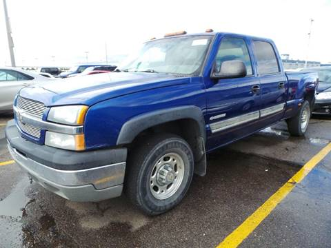2003 Chevrolet Silverado 1500HD for sale in Oakley, KS