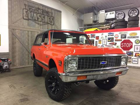1971 Chevrolet Blazer for sale at Grand Rapids Classics in Grand Rapids MI