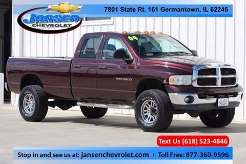 2004 Dodge Ram Pickup 2500 for sale in Germantown IL