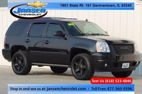 2012 GMC Yukon for sale in Germantown IL