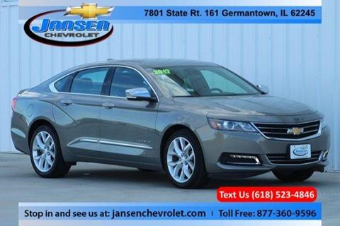 2017 Chevrolet Impala for sale in Germantown IL