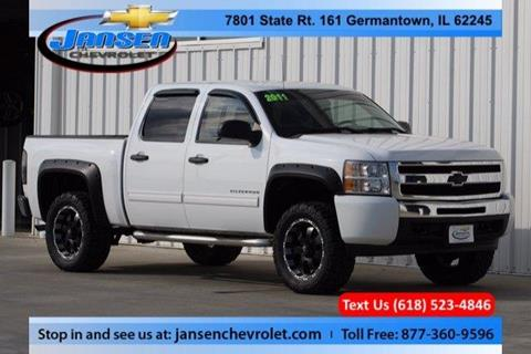 2011 Chevrolet Silverado 1500 for sale in Germantown IL