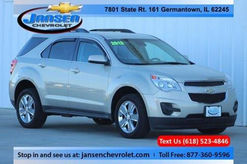 2012 Chevrolet Equinox for sale in Germantown IL