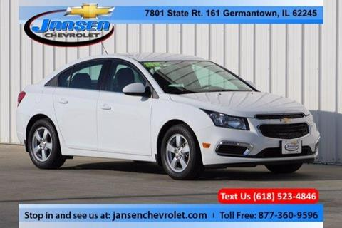 2016 Chevrolet Cruze Limited for sale in Germantown IL