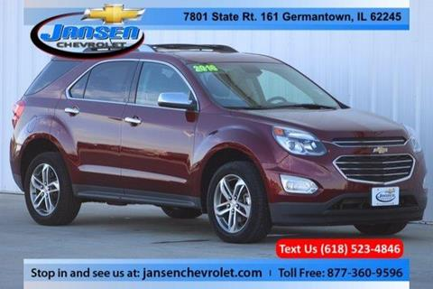 2016 Chevrolet Equinox for sale in Germantown IL