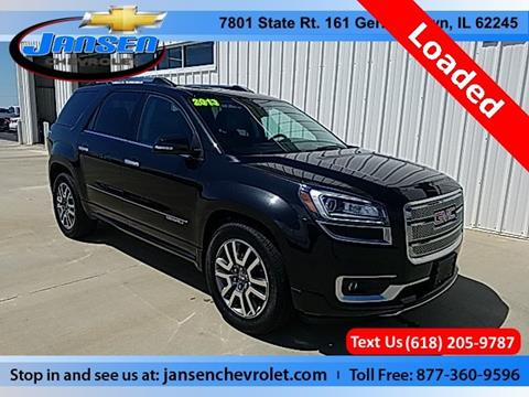 2013 GMC Acadia for sale in Germantown, IL
