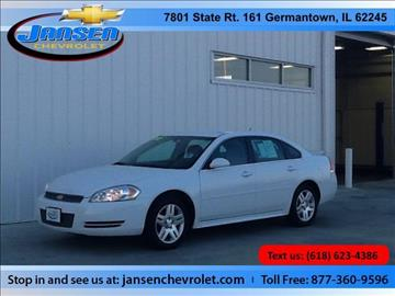 2012 Chevrolet Impala for sale in Germantown, IL