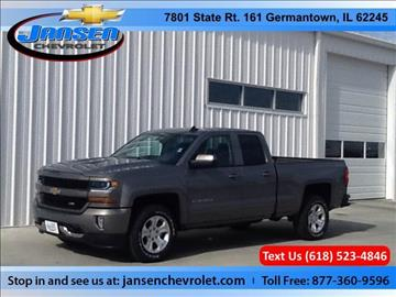 2017 Chevrolet Silverado 1500 for sale in Germantown, IL