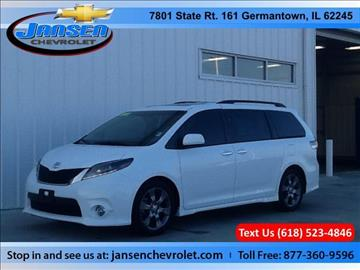 2015 Toyota Sienna for sale in Germantown, IL