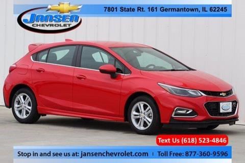 2017 Chevrolet Cruze for sale in Germantown IL