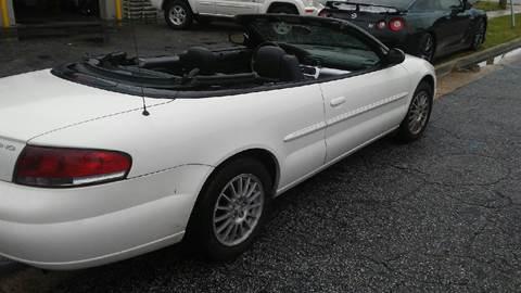 2005 Chrysler Sebring for sale at Charles Baker Jeep Honda in Norfolk VA