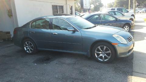2006 Infiniti G35 for sale at Charles Baker Jeep Honda in Norfolk VA