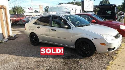 2007 Ford Focus for sale at Charles Baker Jeep Honda in Norfolk VA