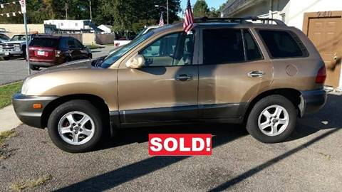 2002 Hyundai Santa Fe for sale at Charles Baker Jeep Honda in Norfolk VA