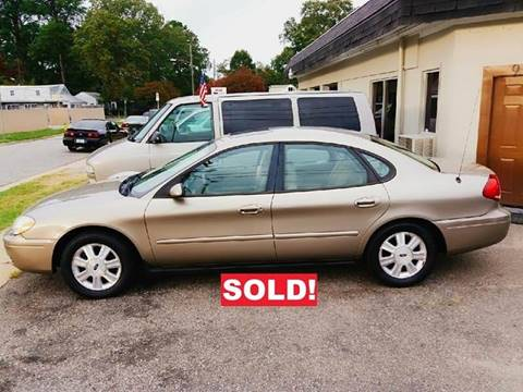 2005 Ford Taurus for sale at Charles Baker Jeep Honda in Norfolk VA