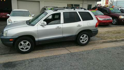 2004 Hyundai Santa Fe for sale at Charles Baker Jeep Honda in Norfolk VA
