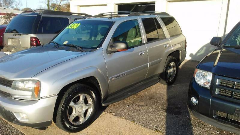 2004 Chevrolet TrailBlazer for sale at Charles Baker Jeep Honda in Norfolk VA
