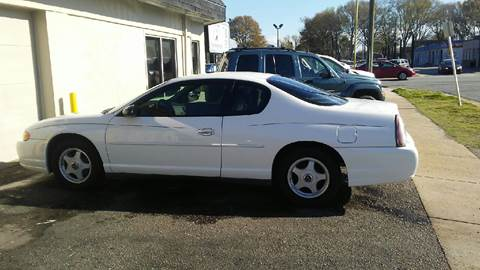2003 Chevrolet Monte Carlo for sale at Charles Baker Jeep Honda in Norfolk VA