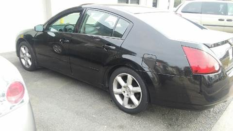 2004 Nissan Maxima for sale at Charles Baker Jeep Honda in Norfolk VA