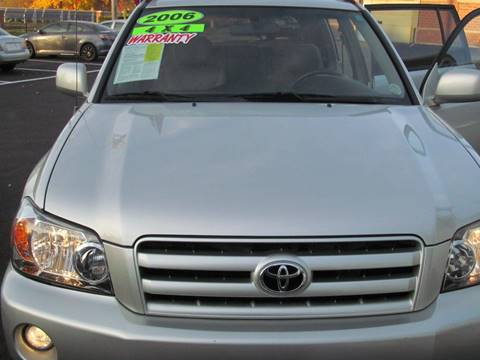 2006 Toyota Highlander for sale in Brockton, MA