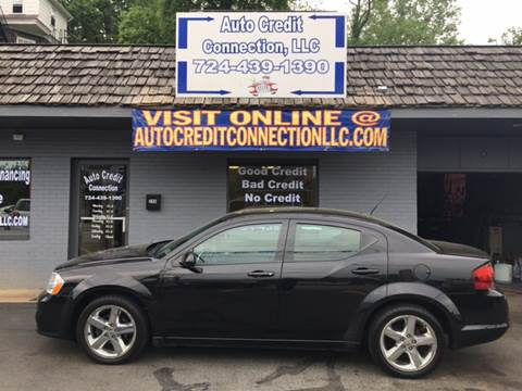 2011 Dodge Avenger for sale at Auto Credit Connection LLC in Uniontown PA