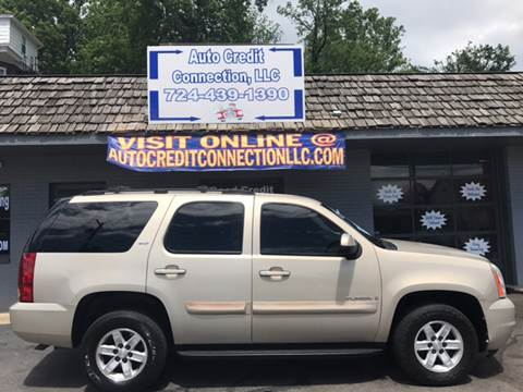 2007 GMC Yukon for sale at Auto Credit Connection LLC in Uniontown PA