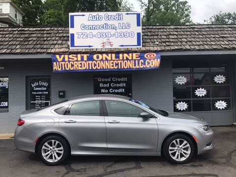 2015 Chrysler 200 for sale at Auto Credit Connection LLC in Uniontown PA