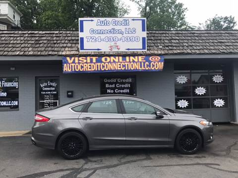 2014 Ford Fusion for sale at Auto Credit Connection LLC in Uniontown PA