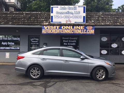 2015 Hyundai Sonata for sale at Auto Credit Connection LLC in Uniontown PA