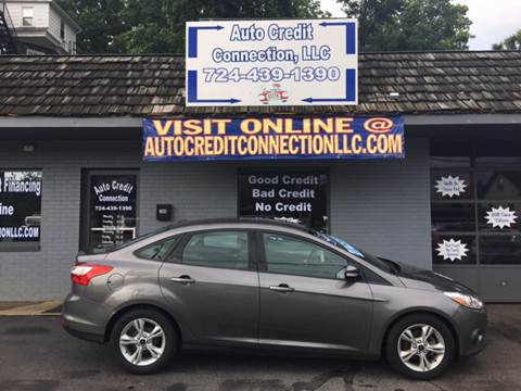 2014 Ford Focus for sale at Auto Credit Connection LLC in Uniontown PA