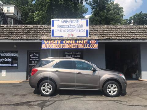2012 Chevrolet Equinox for sale at Auto Credit Connection LLC in Uniontown PA