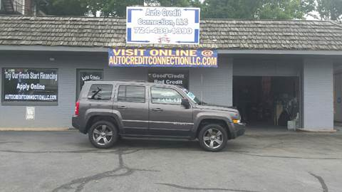 2015 Jeep Patriot for sale at Auto Credit Connection LLC in Uniontown PA