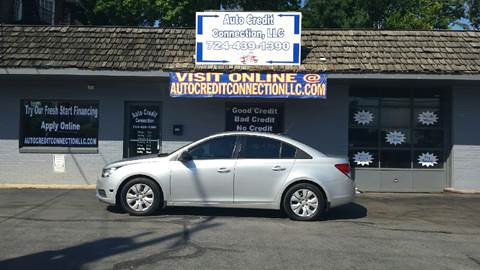 2014 Chevrolet Cruze for sale in Uniontown, PA