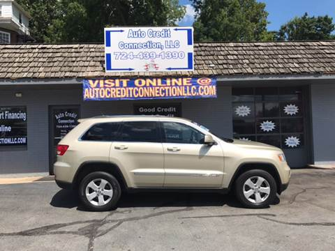 2012 Jeep Grand Cherokee for sale at Auto Credit Connection LLC in Uniontown PA