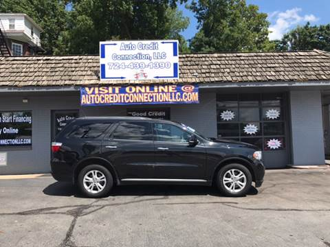 2013 Dodge Durango for sale at Auto Credit Connection LLC in Uniontown PA