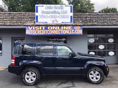 2012 Jeep Liberty for sale at Auto Credit Connection LLC in Uniontown PA
