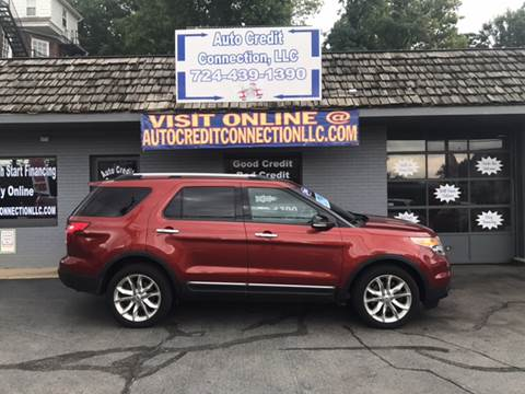 2014 Ford Explorer for sale at Auto Credit Connection LLC in Uniontown PA