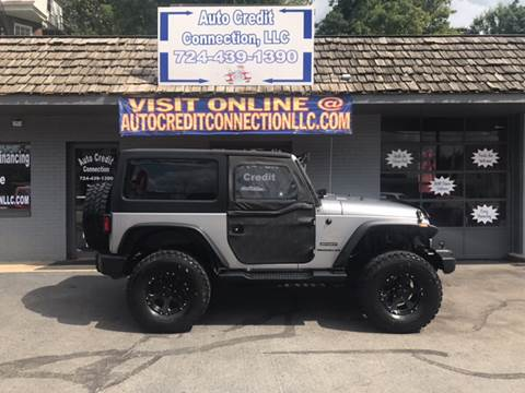 2013 Jeep Wrangler for sale at Auto Credit Connection LLC in Uniontown PA