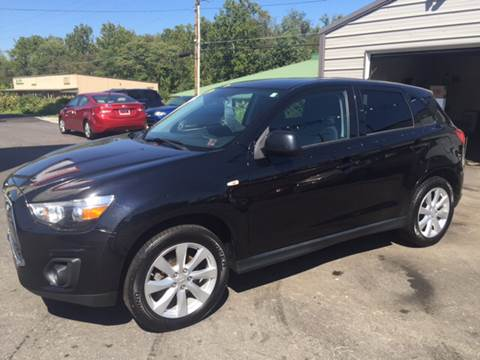2014 Mitsubishi Outlander Sport for sale at Auto Credit Connection LLC in Uniontown PA