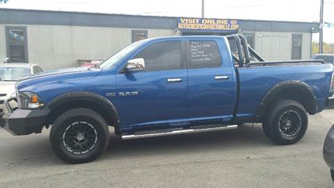 2010 Dodge Ram Pickup 1500 for sale at Auto Credit Connection LLC in Uniontown PA