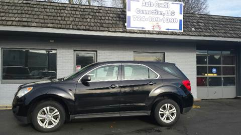 2011 Chevrolet Equinox for sale at Auto Credit Connection LLC in Uniontown PA